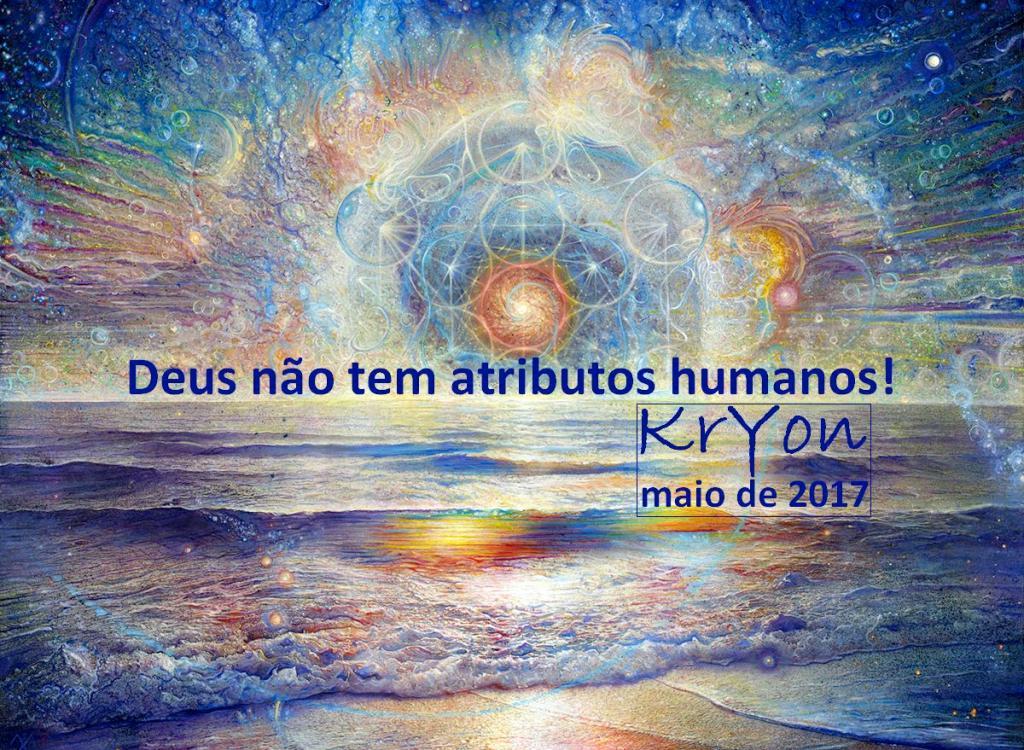 Deus não tem atributos humanos