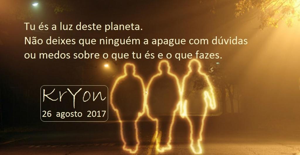 Tu és a luz do mundo...