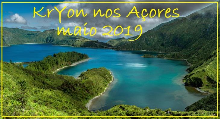Kryon nos Açores maio 2019
